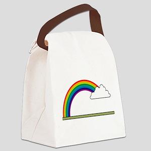 Rainbow-02-[Converted] Canvas Lunch Bag